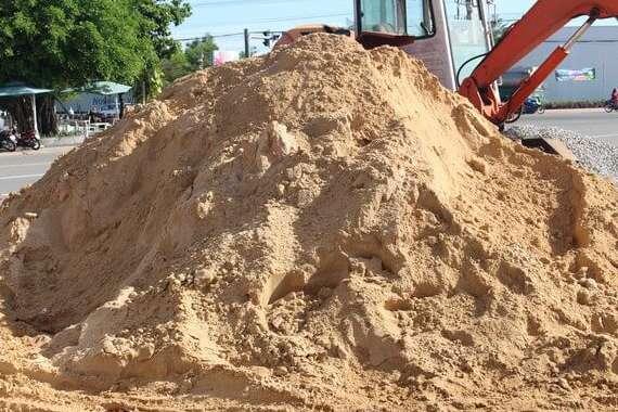 Công ty mua bán cát xây dựng chất lượng