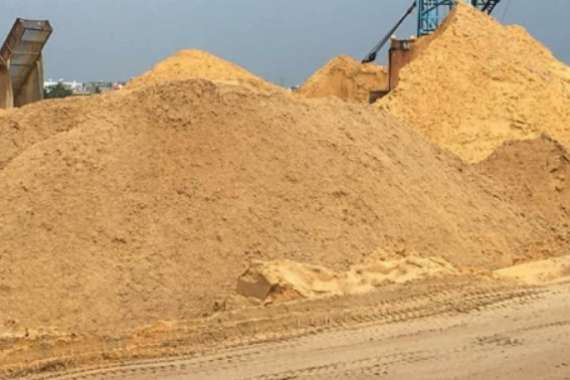 Mua cát xây dựng ở Hồ Chí Minh