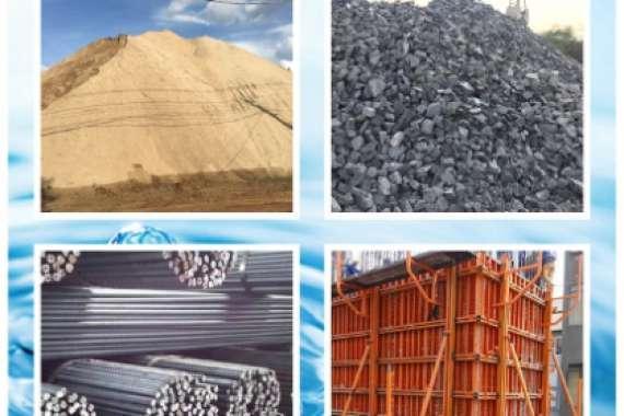 Một số loại vật liệu xây dựng phổ biến
