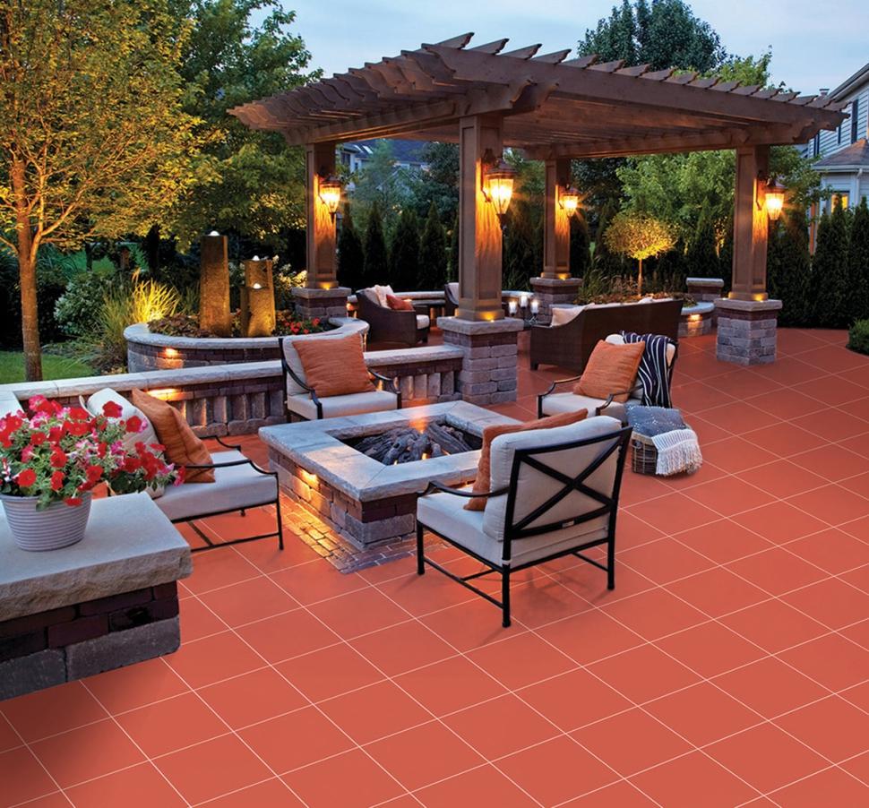 Gạch chống nóng sân thượng Cotto là gì?